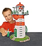 Simba 109252133 - Feuerwehrmann Sam Leuchtturm mit Figur 40 cm für Simba 109252133 - Feuerwehrmann Sam Leuchtturm mit Figur 40 cm