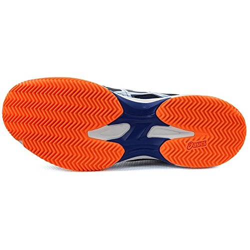 Asics , Herren Tennisschuhe Blau / Schwarz Einheitsgröße Azul/Naranja