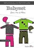 Brittschens Stoffe und Zutaten Juego de Ropa de bebé de Papel, para Coser a bebés y niños pequeños, Talla 50-98