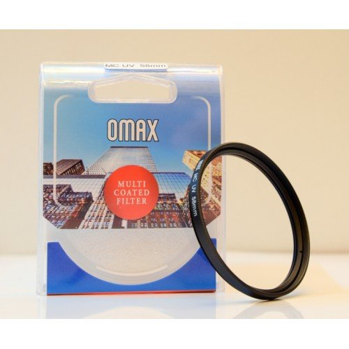 Omax 58mm Multi-coated UV Filter for Nikon AF-S DX NIKKOR 55 - 300 mm f/4.5-5.6G ED VR  available at amazon for Rs.590