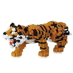 Nanoblock- NBM021 Bengal Tiger Juguete, Kawada
