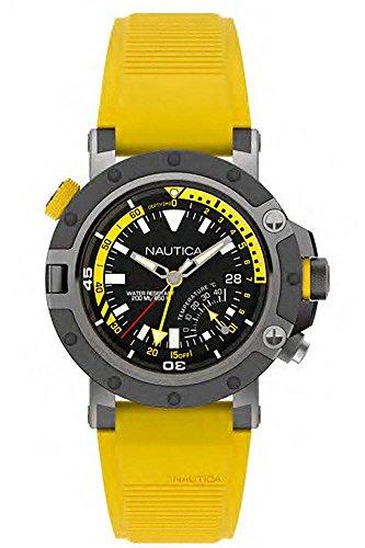 Nautica Herren-Armbanduhr - Watch Gelb Nautica