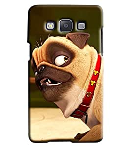 Clarks Cartoon Dog Hard Plastic Printed Back Cover/Case For Samsung Galaxy A7