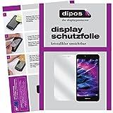 dipos I 2X Schutzfolie klar passend für Medion Life X5020 Folie Bildschirmschutzfolie