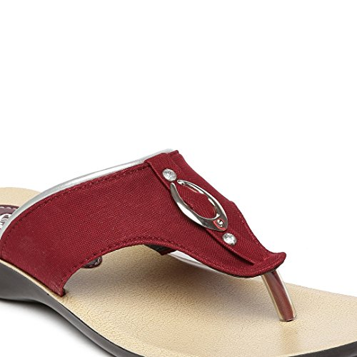 THEME UNITED Women's Rubber Wedges