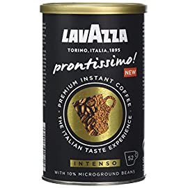 Lavazza Prontissimo Premium Instant Intenso Coffee Tin 95 g (Pack of 6)