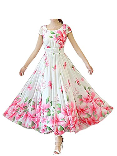 Shiv Fashion Floral Drops Faux Georgette Heavy Printed Semi-stitched Western...