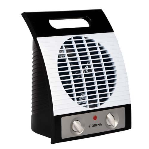 Oreva Grey 2000 Watt Fan Heater