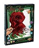 Schipper 609130521 - Malen nach Zahlen - Rote Rose, 40x50 cm