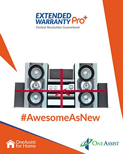 OneAssist 2 Year Extended Warranty Pro+ Plan for Home Theatres Between Rs. 5000 to Rs. 10000