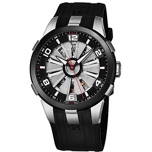 Perrelet Men's Case Quartz Analog Watch A1082-1