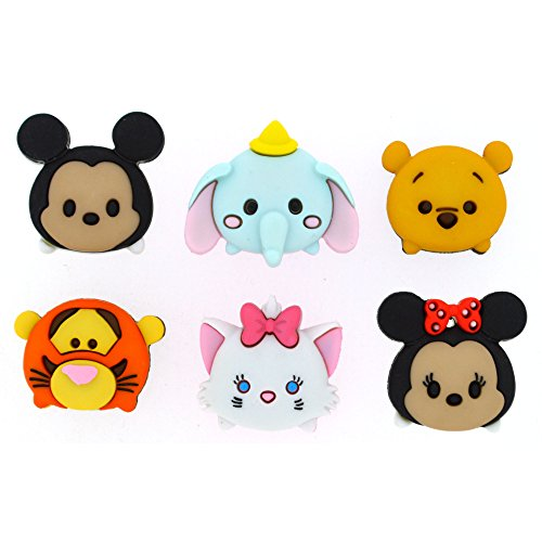 Disney tsum-tsum – novelty craft buttons & embellishments by dress it up