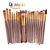 Demarkt 20 Stück / Set Make-up Pinsel-Set (Golden) - Best Reviews Guide