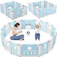 Dripex Parque para Bebés, Corralito Bebe, Centro de Actividades para Niños, Patio de Juegos de Seguridad Hogar