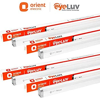 Orient Electric 20 Watts EyeLuv Flicker Controlled LED Batten (Pack of 4, Cool White)