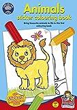 Orchard Toys – Animales adhesivo libro para colorear (Multicolor)