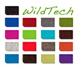WildTech Sleeve für Huawei P8 lite Hülle Tasche – 17 Farben (made in Germany) – Anthrazit - 2