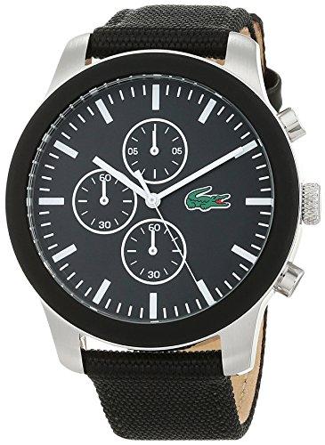 Lacoste Unisex-Adult Chronograph Quartz Watch with Textile Strap 2010950