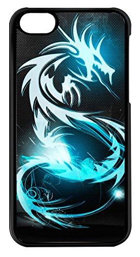 coque-iphone-5c-dragon-bleu-brillant-ref-136