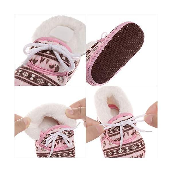 shihao159 Baby Socks Shoes,Keep Warm Slippery Soft bottom Cotton Fabrics Baby's First Step Baby Socks(blue) 3