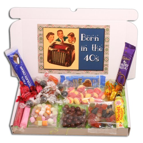 Born in the Forties Sweets Gift Selection Box