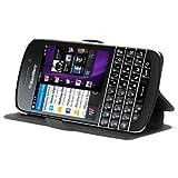 Cadorabo - Ultra Slim Book Style Hülle für Blackberry Q10