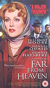 Far From Heaven [DVD] - Julianne Moore - 2003 - Very Good Condition