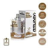 #10: Unived RRUNN Ultra Butter, Portable Energy Peanut Butter & Cashew Butter Squeeze Packs, 4 Servings Pack