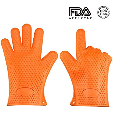 vvbox Confezione da 2in silicone resistente al calore Guanto da