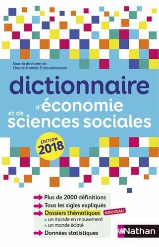 Dictionnaire d'économie et de sciences sociales par Collectif
