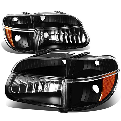 ford-explorer-mountaineer-pair-of-black-housing-headlights-amber-corner-lights-by-auto-dynasty