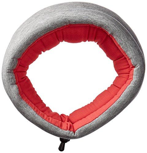 Ostrich Pillow - Fascia per coprirsi gli occhi e riposare di giorno, utilizzabile anche come sciarpa taglia unica Rosso - Dreamtastic Coral