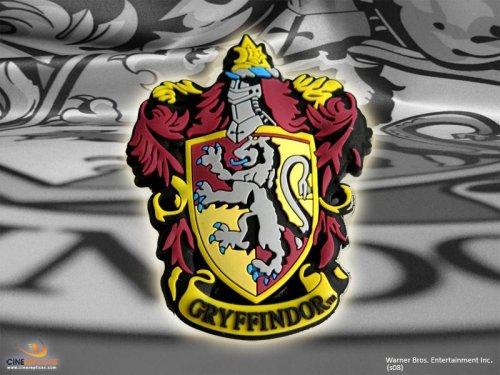Harry Potter Figurine Magnet (aimant) Logo Gryffondor