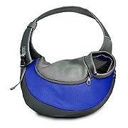 BIGWING Style Borsa da viaggio per cani Trasportino da passeggio ideale per  cani o gatti piccola - Blu 0797af1e05c