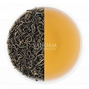 Find Imperial Oolong Tea Leaves from the the Blue Mountains, 100% Pure Nilgiri Oolong Tea Loose Leaf, Sourced Direct from the Glendale Tea Estate in South India, Oolong Tea for Weight Loss (25 Cups) from Vahdam Teas
