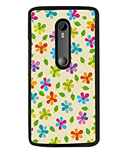 PrintVisa Designer Back Case Cover for Motorola Moto G3 :: Motorola Moto G (3rd Gen) :: Motorola Moto G3 Dual SIM (Beautiful Flowers Leafs Natural Sceneray Wall Paper Poster)