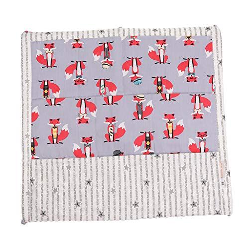 Baoblaze Baby Bett Hängetasche Kinderzimmer Organizer Cot Spielzeug Speicher-Beutel - Roter Fuchs (Bett In Tasche-rot)