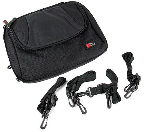 DURAGADGET Kopfstützenhalterung/Tasche für Medion Life E72040 Twin DVD-Player (MD 84108)/Odys Tara Port DVD Player, X820020 und Philips PD7025/12