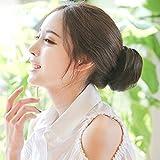 JAGTEK Imported Fashion Hair Doughnut Bun Ring Shaper Hair Donut Style Updo Black (hair accessories)