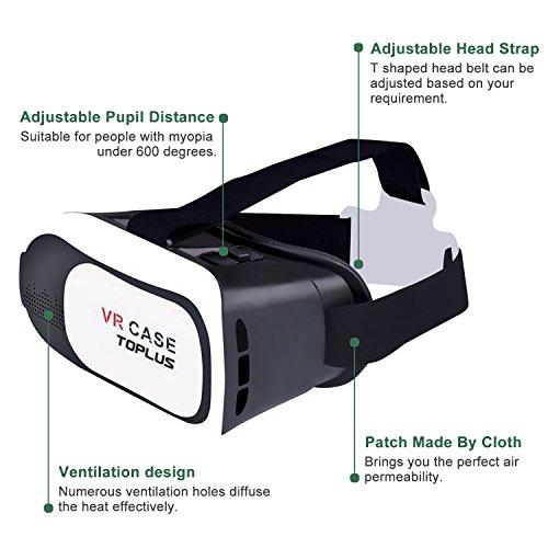 Handys & Kommunikation Gaming Video 3d Brille Vr Box Für Smartphone Handy Android Ios Virtual Reality Modische Und Attraktive Pakete Tv- & Heim-audio-zubehör