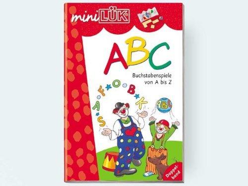 Mini LK Heft ABC Buchsta benspiele von A-Z