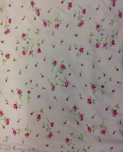Vacances valise dames grande taille bouton de rose doux long longueur robe de nuit 16 to 34 UK Rose