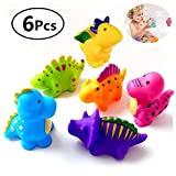 Bathtub Toys Dinosaur Baby Bath Toys, Fun Squirt Toys Floating Bathroom Toys,Perfect Children Gift for Kids Infant toddlers?6pcs?