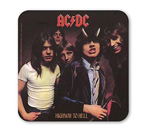 AC/DC - Highway To Hell Sottobicchiere sughero - Coaster - Design originale concesso su licenza