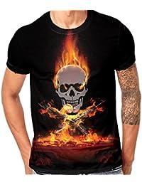 Amazon.es  Animal Print - Camisas   Camisetas 68fd9896a1672