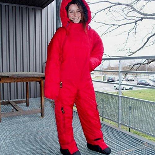 SelkBag Original 5g Schlafsack/Anzug Small Red Shelter