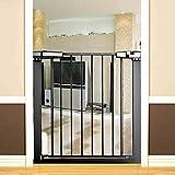 Der Geschmack von zu Hause Baby-Sicherheitstür Isolationstür Kinder Balkon schützender Zaun Treppenschutz Schutz fixierte Schutztür (größe : 106-113cm)
