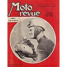 Moto Revue 1347 . 29 juin 1957 . Essai 250 Claeys . Technique compétition deux temps .