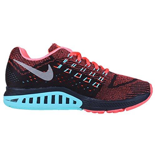 Nike W Air Zoom Structure 18 Damen - Schwarz/Koralle
