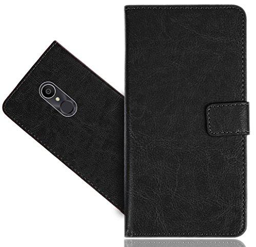 FoneExpert® Alcatel 3C Handy Tasche, Wallet Case Cover Genuine Hüllen Etui Hülle Ledertasche Lederhülle Schutzhülle Für Alcatel 3C